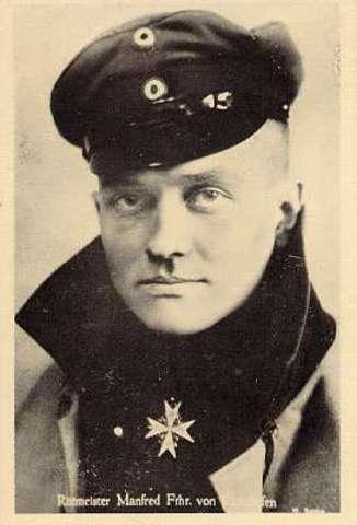 Manfred von Richthofen is shot down