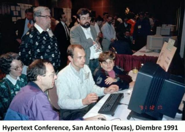 hypertext Conference, por Tim Berners-Lee