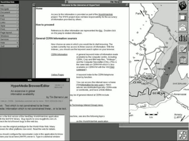 Primer navegador Web
