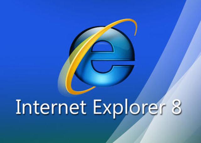 Internet Explorer 8, Microsoft