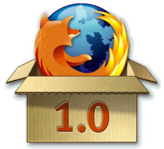 Aparicion de Mozzilla Firefox