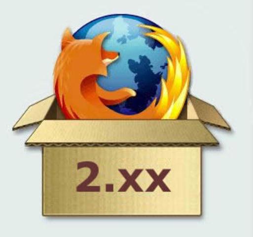 Versión 2.0, Mozilla Firefox