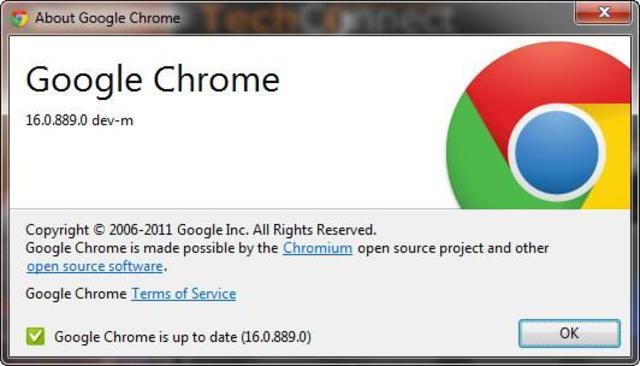Versión 16, Google Chrome