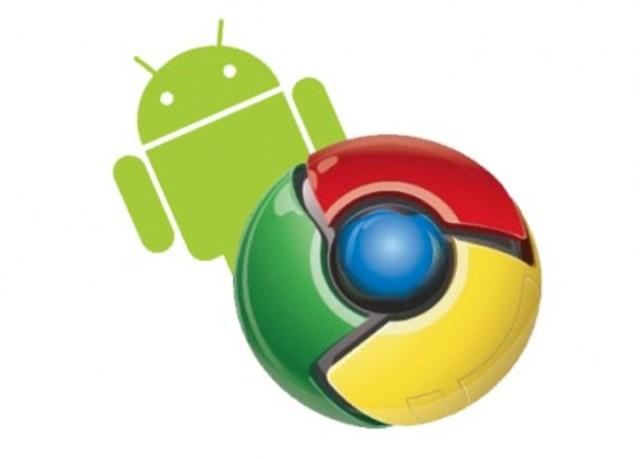 Versión para android, Google Chrome