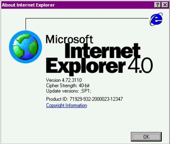 Internet Exploer 4