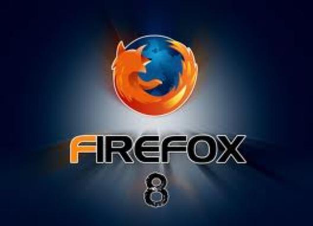 Moxilla Firefox Version 8