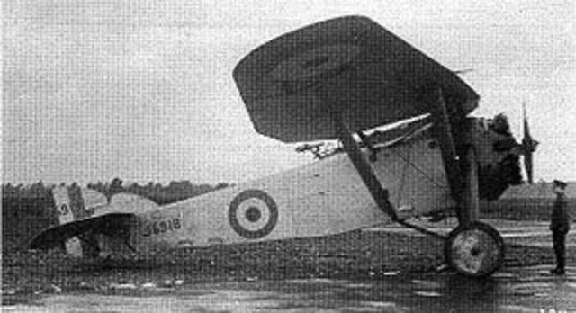 First Hawker plane built