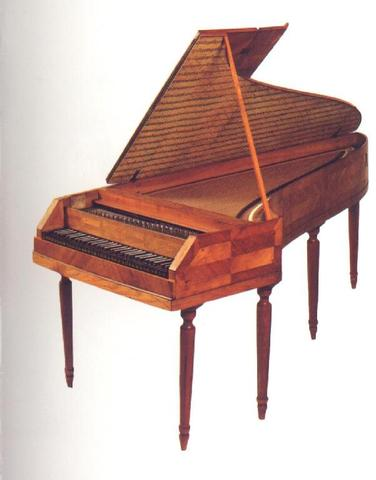 Lengerer and Hoffman Viennese pianos