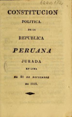 La Constitución Política del Perú de 1826