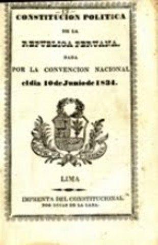 La Constitución Política de la República Peruana de 1834