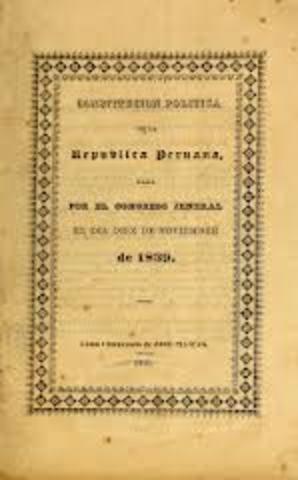 La Constitución Política del Perú de 1839