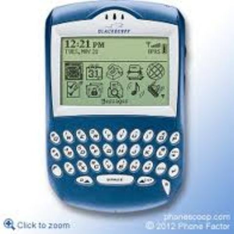 BlackBerry's First Integrated Phone