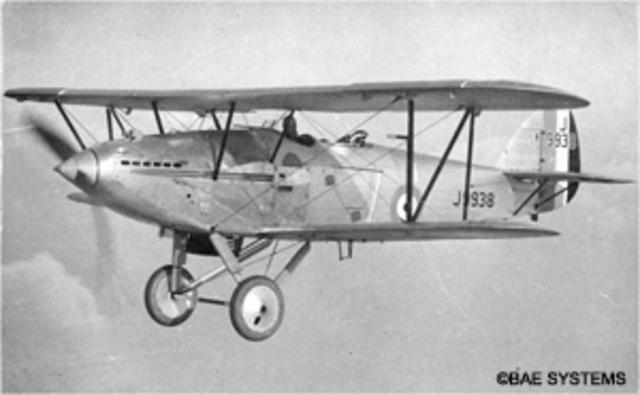 Hawker Hart Light Bomber Made