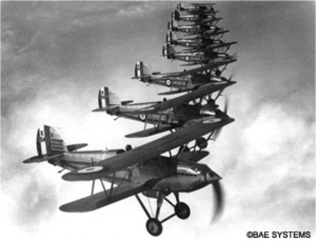 Hawker Fury Fighter Made