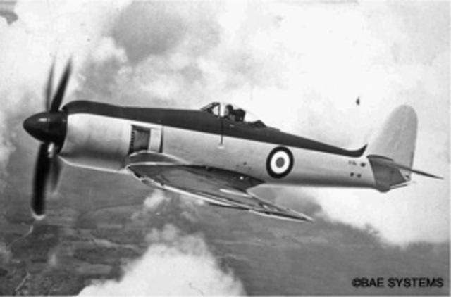 Hawker Sea Fury Made
