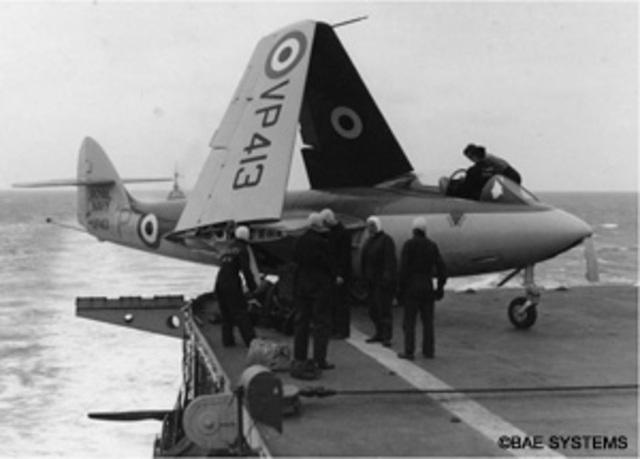 Hawker Sea Hawk Made