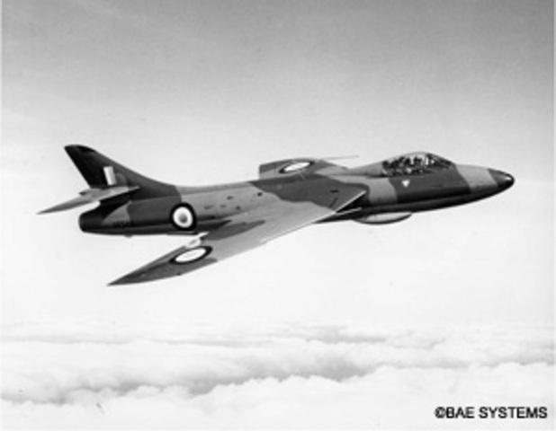 Hawker Hunter Made