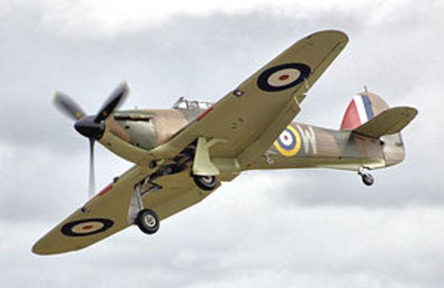 Hawker Hurricane built