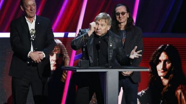 Inducted into Rock & Roll HOF