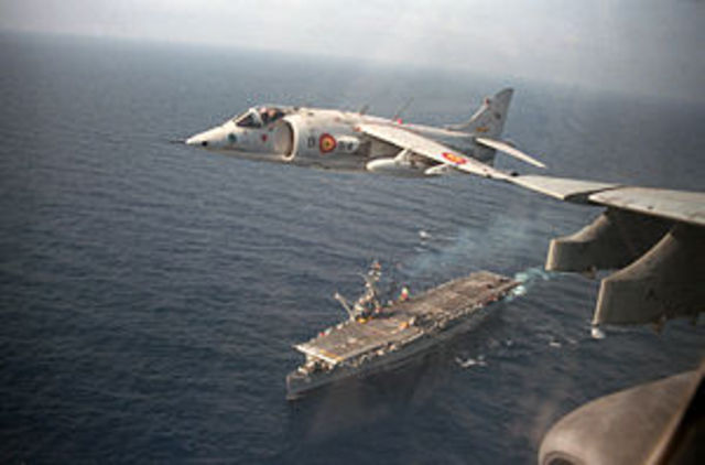 Hawker Siddeley Harrier built