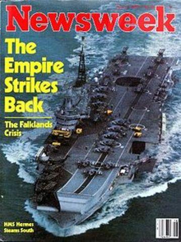 Falklands War started