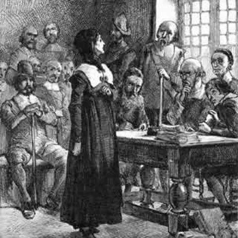 Anne Hutchinson Banished To Westchester, New York