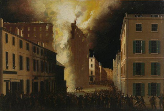 Much of Boston Destroyed