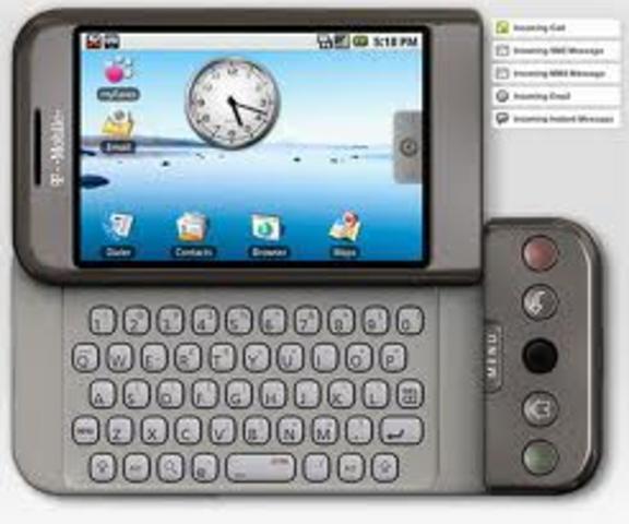 Primeiro Celular Android