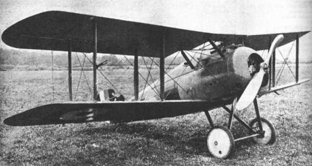 Sopwith 7F.1 Snipe is built