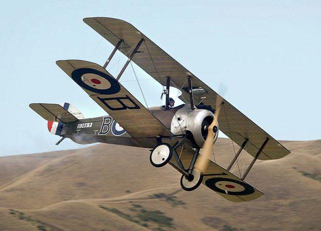 Sopwith Camel is built