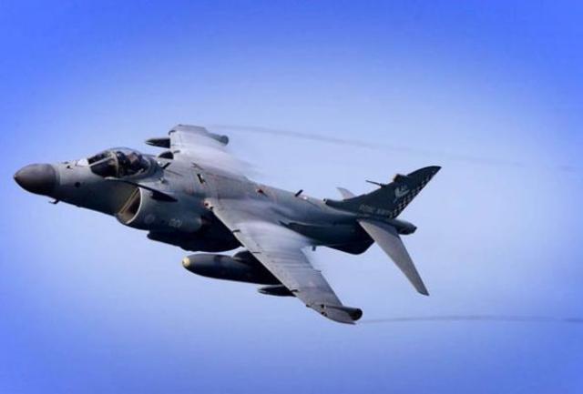 Hawker Harrier is built