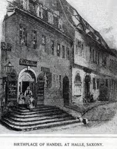 Handel's Birth