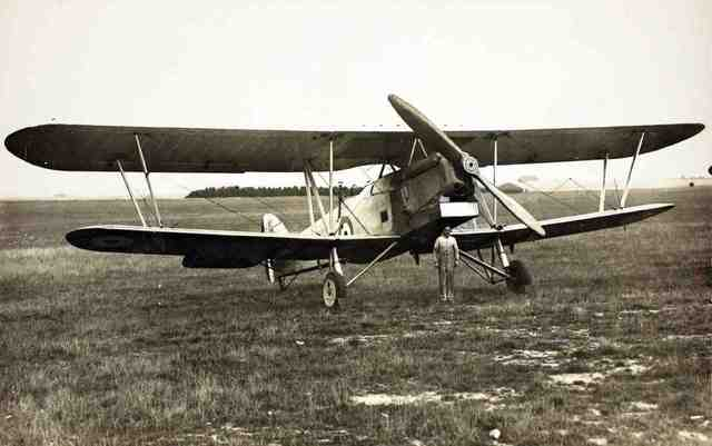 Hawker Horsley Bomber is built