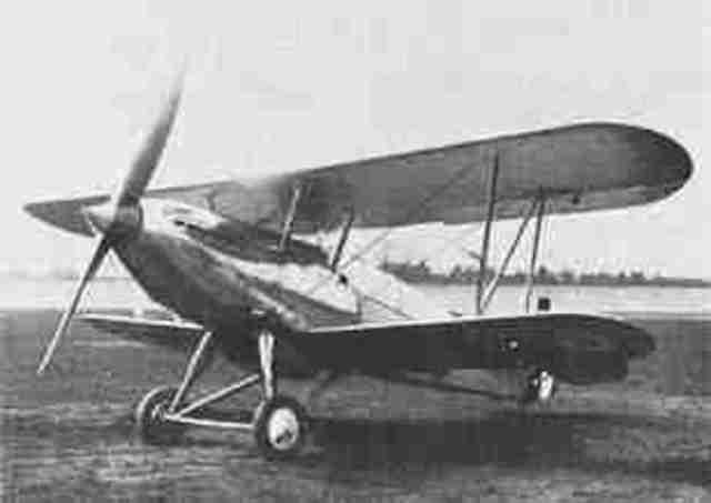 Hawker Fury is built