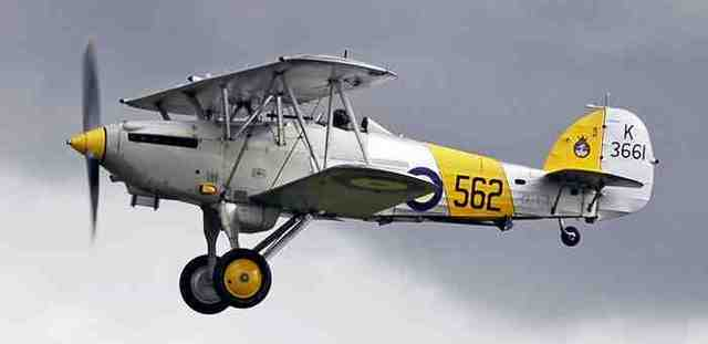 Hawker Nimrod is built