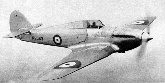 Hawker Hurricane is built