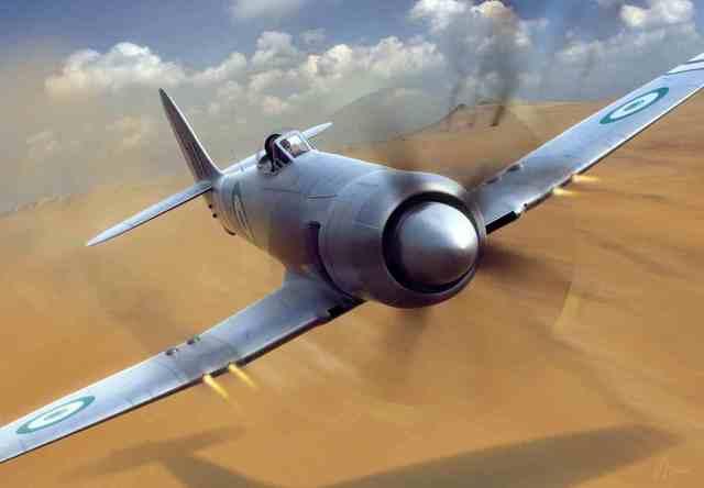 Hawker Sea Fury is built