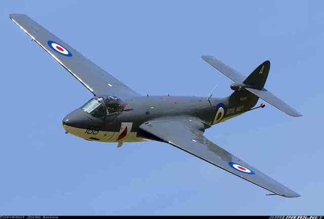 Hawker Sea Hawk is built