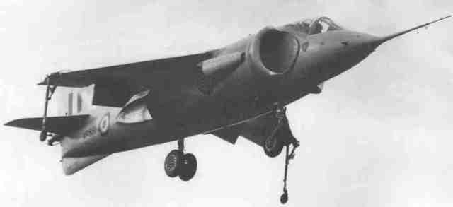 Hawker P.1127 is built