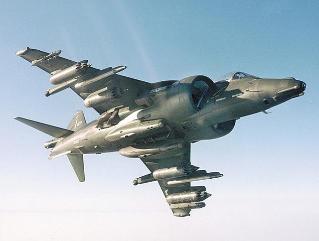 Harrier Takeoff