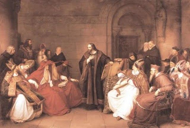 Gran Cisma de Occidente, tres papas reinan a la vez