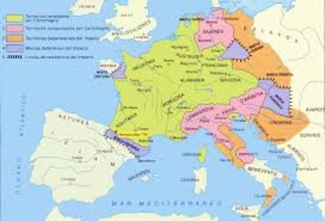 Tratado de Verdún. División de Europa y surgimiento de Italia, Francia y Alemania