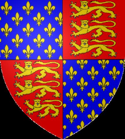 La dinastía Plantagenet con la corona inglesa