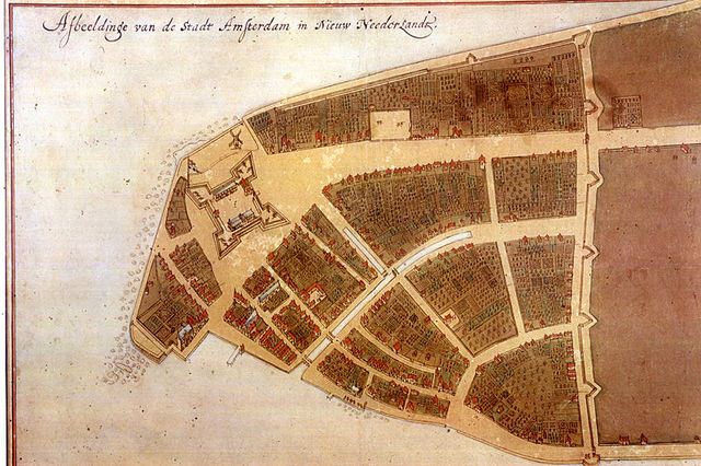 New Amsterdam is founded