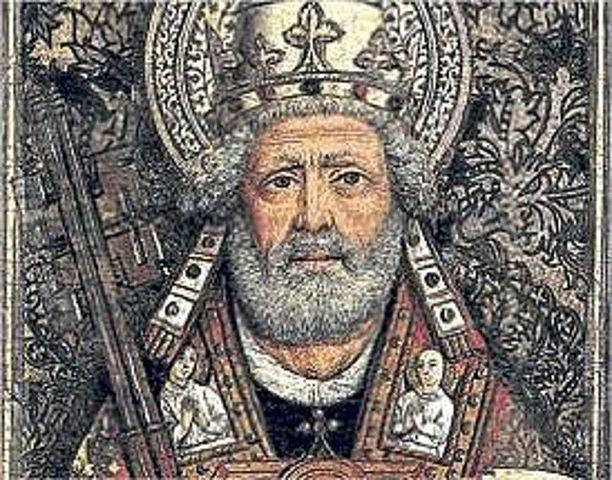 Gran division de Occidente, tres papas reinan a la vez