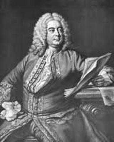 Handel started studing law
