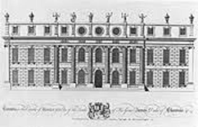 Handel became house composer at Cannons in Middlesex, England