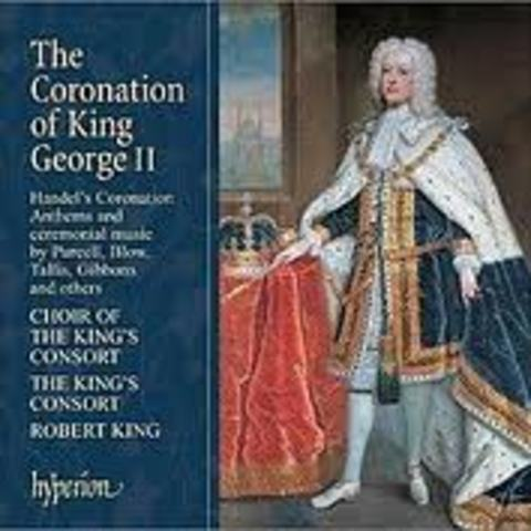 Handel was commissioned to write four anthems for the Coronation ceremony of King George II