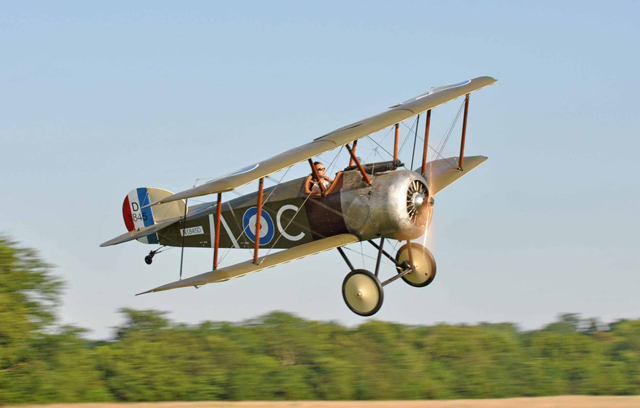 The Sopwith Camel - First Flight