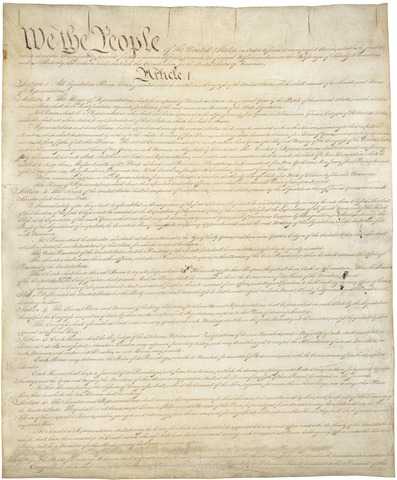 Congress adopts a Constitution
